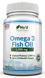 Omega 3 Fish Oil Nu U Nutrition
